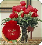 24 Red Roses - I Love You