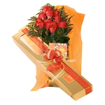 12 Roses With Box