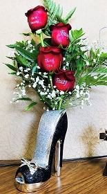 Roses in a Shoe