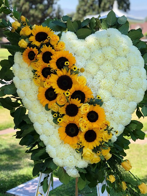 New Product - Heartfelt sunflower